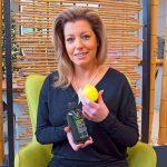 Aloha Hair Inhaberin Sandra Hofsäß mit dem Produkt Lemon Sage