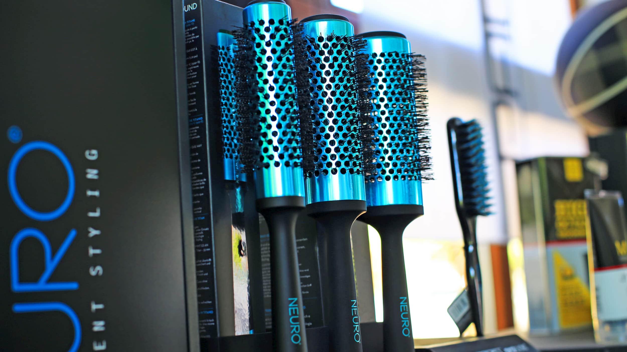 Produktpräsentation: Blaue Rundbürsten von Neuro